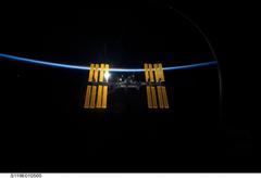 Crew of three docks at International Space Station