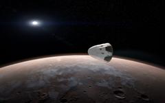 SpaceX s Dragon Orbits Mars