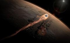 SpaceX s Dragon Enters Mars Atmosphere