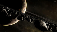 Planets and asteroids wallpapers