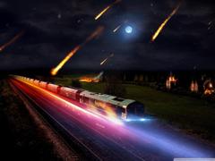Asteroids Night 4K HD Desktop Wallpapers for 4K Ultra HD TV Dual