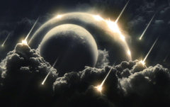 Asteroids Falling wallpapers
