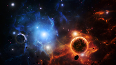 Artwork asteroids nebulae outer space planets wallpapers