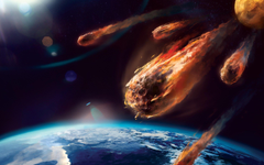 Asteroid Hitting Earth World End Wallpapers