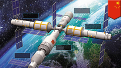 Live China launches Tiangong