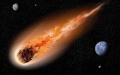 Asteroids are smaller planets made of minerals and rocks orbiting in