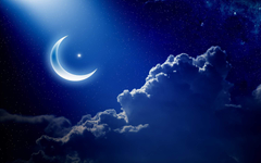 Crescent Moon Wallpapers for desktop in high resolution We
