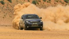 Cars audi dust q7 suv german drift wallpapers