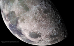 Moon Craters Space Outer Space Wallpapers