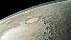 Outer space mars crater wallpapers