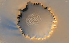 Victoria crater Mars wallpapers