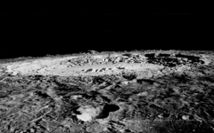 Moon Surface Craters HD Wallpaper Backgrounds Image