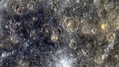 Outer space planets crater mercury wallpapers