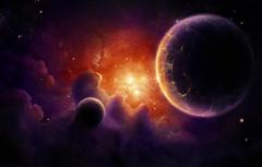 Wallpapers Nebula Planet Red dwarf image for desktop section