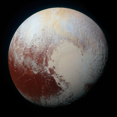 stock photo of cosmos dwarf planet ice