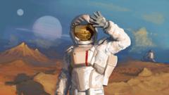 suit planet astronaut cosmonaut light reflection helmet HD wallpapers