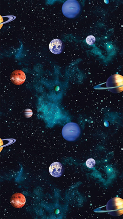 The Cosmos Space Wallpapers by I Love Wallpaper Ideal for a bedroom