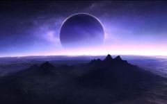 Purple Lunar Eclipse Wallpapers