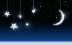 Half Moon With Stars Wallpapers Widescreen Minionswallpapers