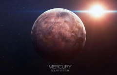 Wallpapers planet Mercury solar system image for desktop section