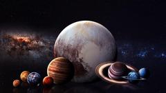 digital art Space art Planet Space Stars Solar System Milky