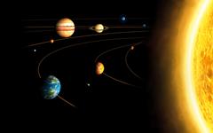 space solar system planet sun mercury venus earth mars jupiter