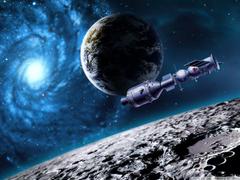 Space Satellite HD desktop wallpapers Widescreen High