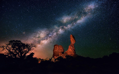 Milky way night Wallpapers