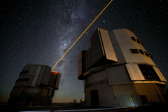 The new PARLA laser in operation at ESO s Paranal Observatory
