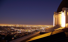 Los Angeles From Griffith Observatory HD desktop wallpapers