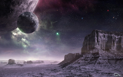 outer Space Planets Digital Art Science Fiction Wallpapers HD