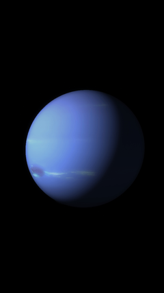 Neptune is part of the new planet themed iOS 9 wallpapers