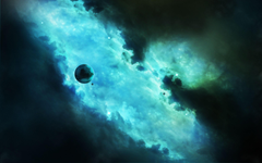 Wallpapers Outer space Galaxy Planet Alone HD Space