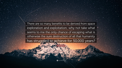 Isaac Asimov Quote There are so many benefits to be derived from