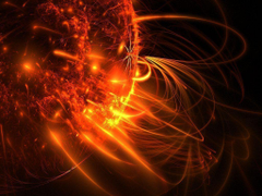Solar flare could unleash nuclear holocaust