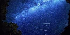 Perseid Meteor Shower Hd