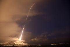 Auroral Rocket in Norway