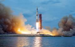 HD wallpaper Apollo launch Pads NASA rocket Saturn V Scanned