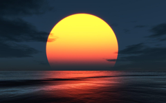 Sun coast digital art landscapes nature wallpapers