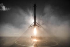 Iridium 1 Landing SpaceX Rocket Landing Wallpapers HD Desktop