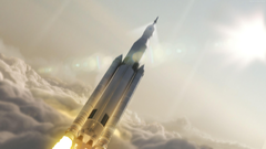 Wallpapers SpaceX falcon ship rocket mars mission Space