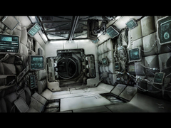 Image of Space Shuttle Interior Design