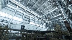 abandoned Soviet space shuttles rust in Kazakhstan