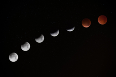 A Supermoon Blue Moon and Lunar Eclipse on January 31