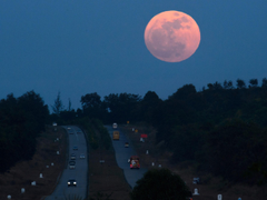 Super blue blood moon End of January to see stunning collision of