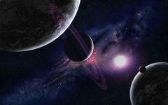 Distant solar system wallpapers
