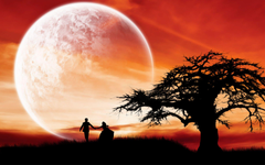 hd love couple wallpapers supermoon romantic night wide