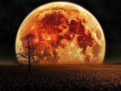 This Total Lunar Eclipse is the second in the tetrad