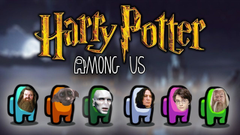Harry Potter Characters Played Among Us pinterest