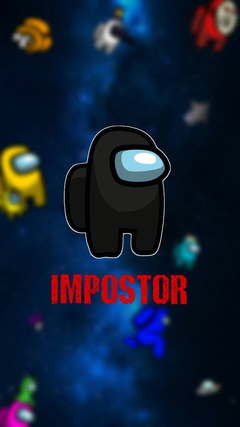 Among Us Impostor wallpapers by Josie544441